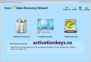 EaseUS Data Recovery Wizard 13.6.0 Crack + License Code {2020}