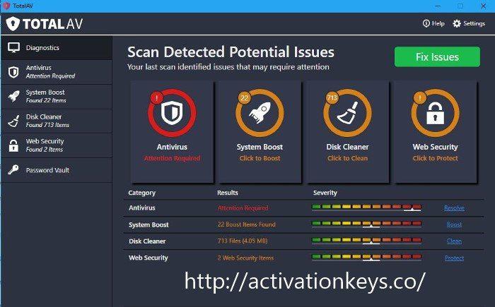 Total AV Antivirus 2020 Crack + Serial Key Free Download [Full Updated]