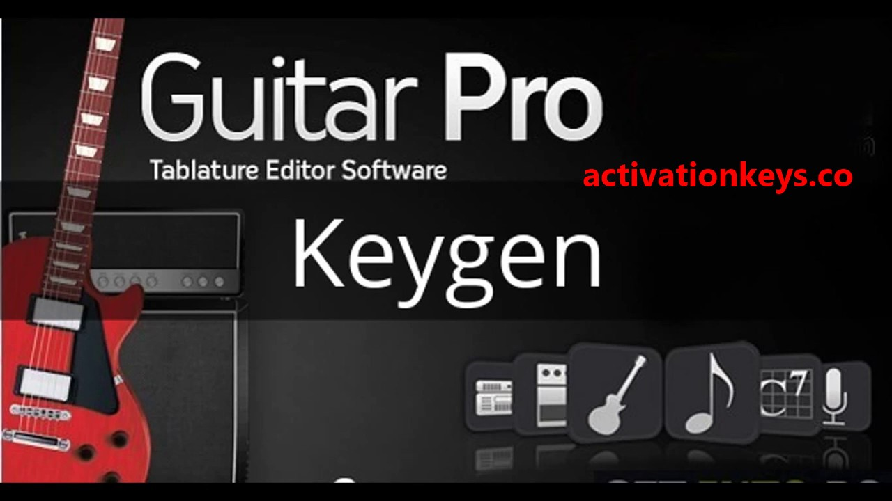 Guitar Pro 7.5.3 Build 1751 Crack + Keygen Download {Win+Mac}
