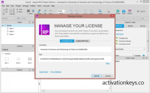 Axure RP Pro 9.0.0.3727 Crack + Free License Key 2021 [Latest Version]