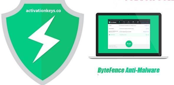 ByteFence Anti-Malware Pro 5.4.1.19 License Key + Crack Keygen [2020]