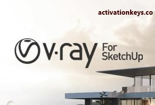 VRay Crack 4.20.02 for SketchUp 2020 + License key {Full Latest Version}