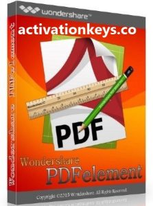 Wondershare PDFelement Pro 8.1.4.557 Crack + Serial Key 2021 [Latest]