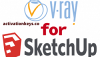 VRay Crack 4.20.03 for SketchUp 2020 + License key {Full Latest Version}