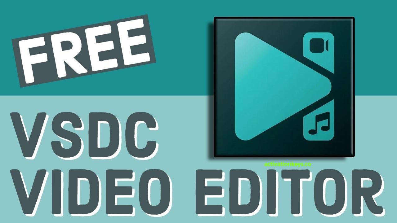VSDC Video Editor Pro 6.4.7.155 Crack + Activation Key Download [2020]