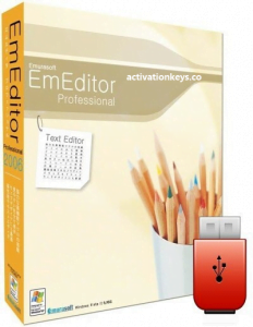 EmEditor Professional 20.6.1 Crack + Free Registration Key 2021 [Lifetime]