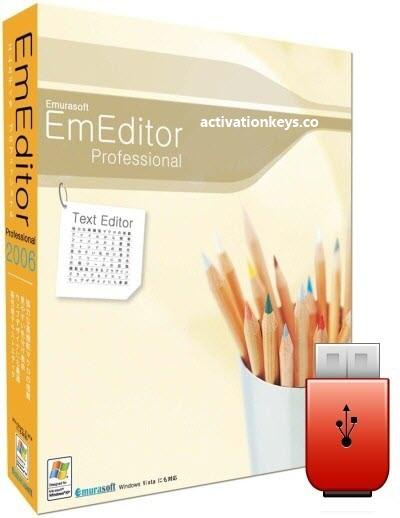 EmEditor Professional 20.1.0 Crack + Free Registration Key [Lifetime] 2020