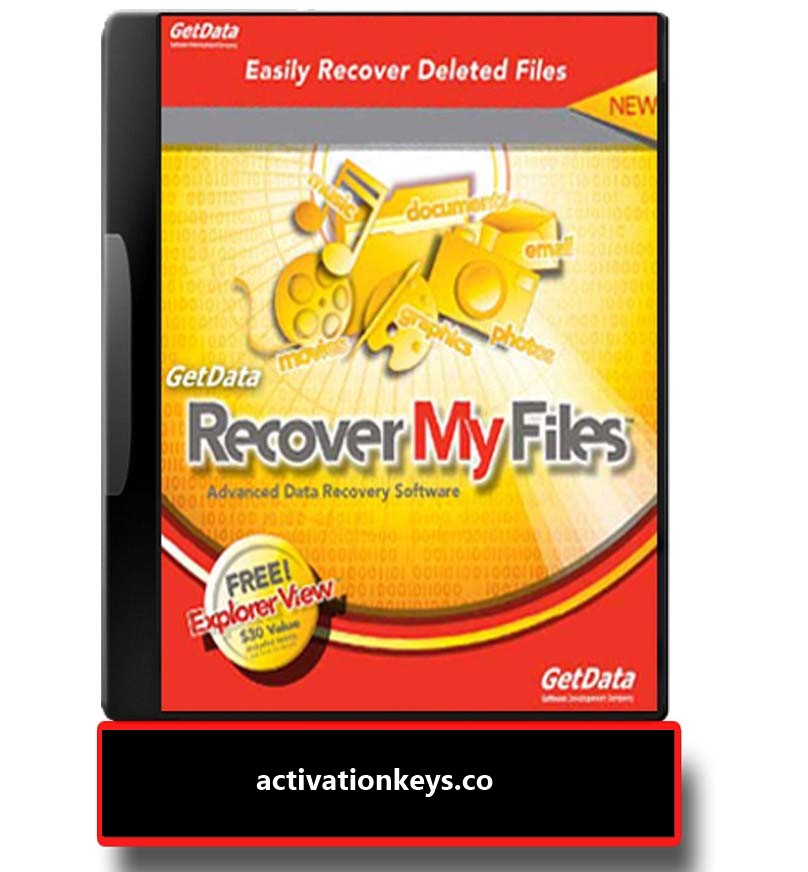 Recover My Files 6.3.2.2553 Crack+ Activation Key 2020 [Latest]