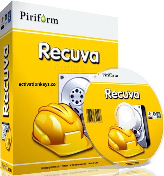 Piriform Recuva Pro 2 Crack + Full Keygen Download 2020 {Latest}