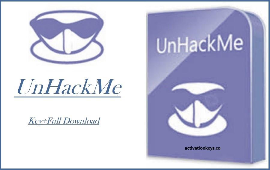 UnHackMe 11.91.0.991 Crack + Activation Key Full Download (2020)