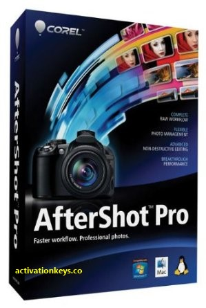 Corel AfterShot Pro 3.6.0.380 Crack + Activation Key Download [2020]