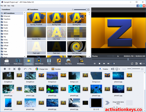 AVS Video Editor 9.4.1.360 Crack + Free Activation Key 2020 (Latest)