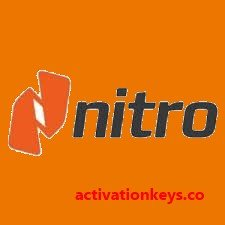 Nitro Pro 13.26.3.505 Crack + Serial Key 2020 Download (Update)
