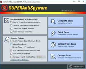 SUPERAntiSpyware Pro 10.0.1222 Crack With License Key [Latest] 2021