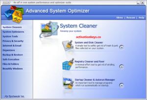Advanced System Optimizer 3.9.3645.18056 Crack + License Key 2021