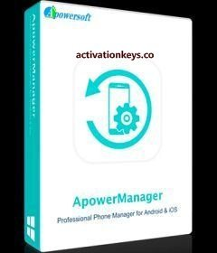 ApowerManager 3.2.9.1 Crack + Activation Key الأحدث 2021