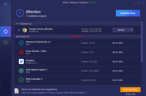 IObit Software Updater Pro 3.6.0.2072 Crack With Serial Key [2021]